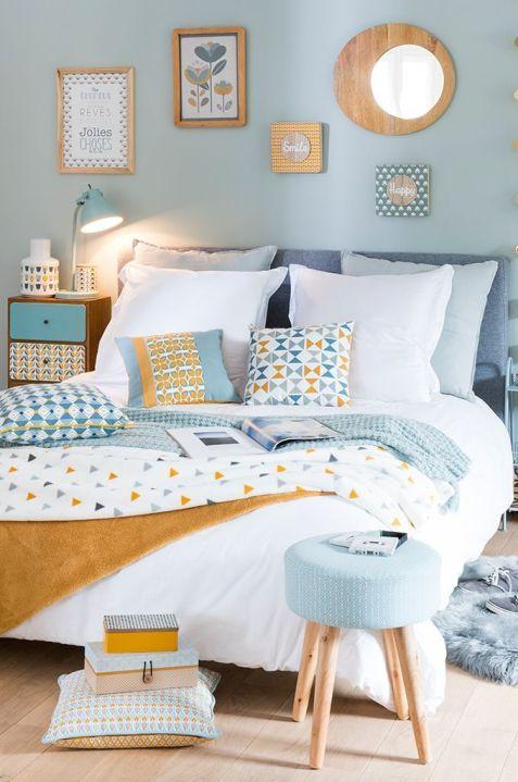Impressive colorful bedroom ideas 38