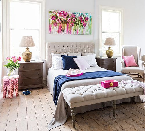 Impressive colorful bedroom ideas 40