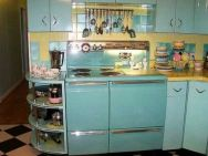 Impressive kitchen retro design ideas for best kitchen inspiration 45