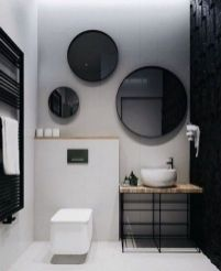 Lovely hotel bathroom design ideas that can be applied to your home 09