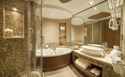 Lovely hotel bathroom design ideas that can be applied to your home 40