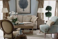 Relaxing formal living room decor ideas 12