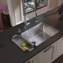 Relaxing undermount kitchen sink white ideas 38