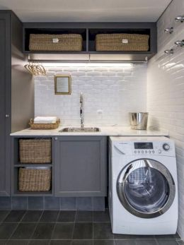 Stunning laundry room decor ideas 02