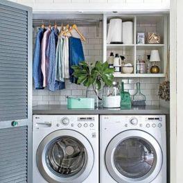 Stunning laundry room decor ideas 04