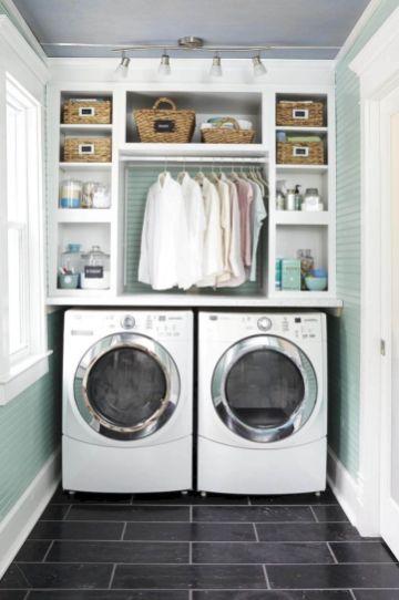 Stunning laundry room decor ideas 13