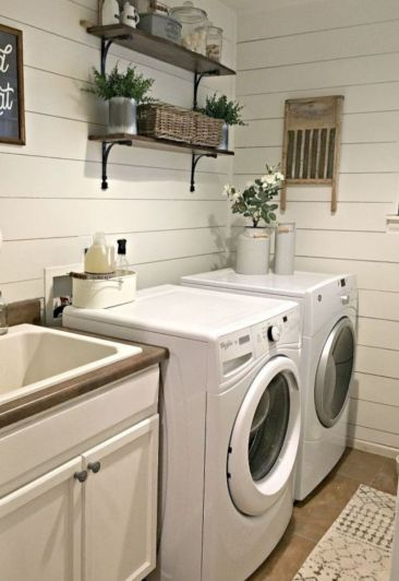 Stunning laundry room decor ideas 17