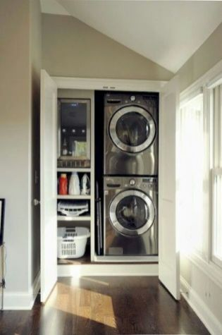 Stunning laundry room decor ideas 20