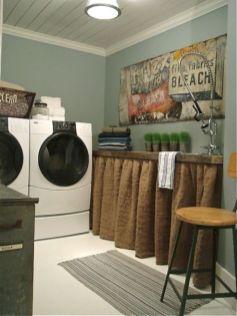 Stunning laundry room decor ideas 39
