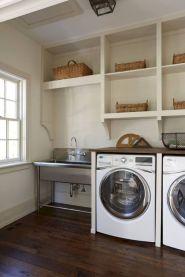 Stunning laundry room decor ideas 40