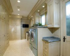 Stylish cabinets for laundry room 12