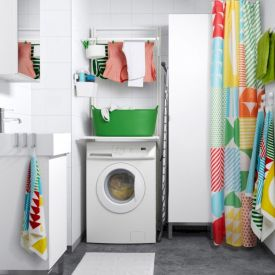 Stylish cabinets for laundry room 14