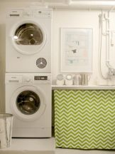 Stylish cabinets for laundry room 20
