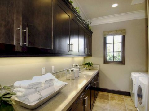 Stylish cabinets for laundry room 23