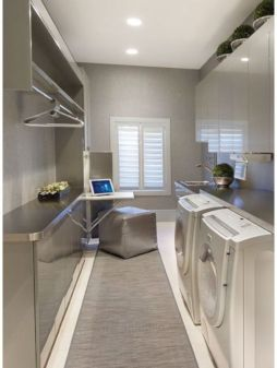 Stylish cabinets for laundry room 30