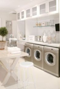 Stylish cabinets for laundry room 31