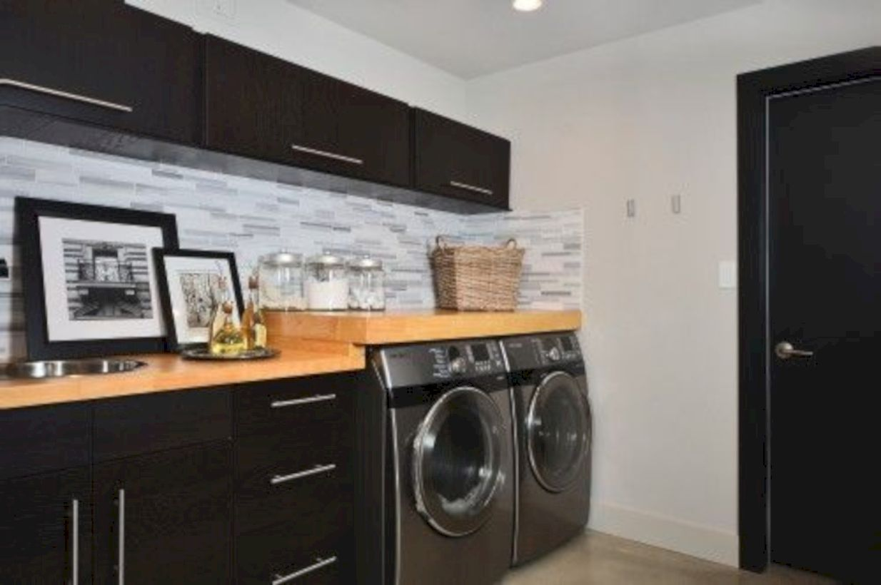 37 Stylish Cabinets For Laundry Room