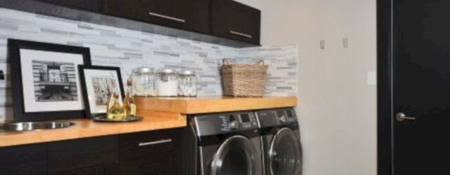Stylish cabinets for laundry room 36