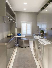 Totally inspiring laundry room wall cabinets ideas 23