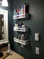 Totally inspiring laundry room wall cabinets ideas 33