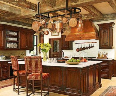 Unordinary italian rustic kitchen decorating ideas to inspire your home 30