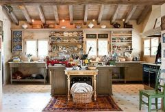 Unordinary italian rustic kitchen decorating ideas to inspire your home 36
