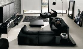Amazing modern minimalist living room layout ideas 37