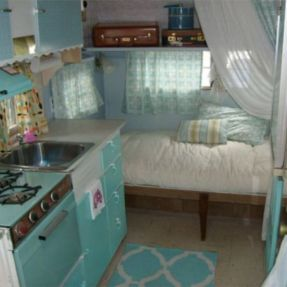 Antique diy camper interior remodel ideas you can try right now 03
