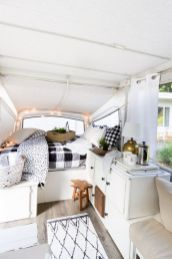 Antique diy camper interior remodel ideas you can try right now 29