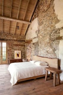 Attractive rustic italian decor for amazing bedroom ideas 07