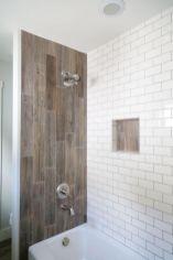 Awesome farmhouse shower tiles ideas 03