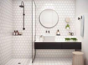 Best ideas how to creating minimalist bathroom 08