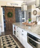 Brilliant rustic farmhouse kitchen cabinets remodel ideas 04