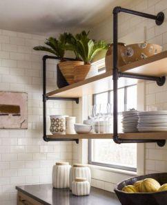 Brilliant rustic farmhouse kitchen cabinets remodel ideas 05