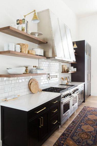 Brilliant rustic farmhouse kitchen cabinets remodel ideas 29