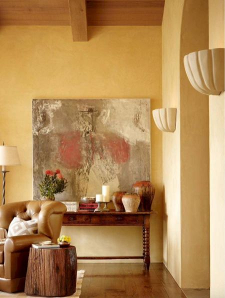 Chic home mediterranean interiors design ideas 35