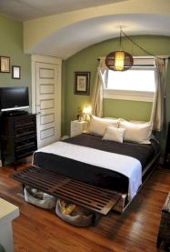 Comfy and cozy small bedroom ideas 37