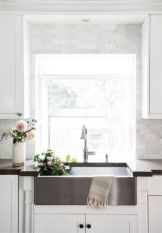 Cool farmhouse kitchen sink remodel ideas 15