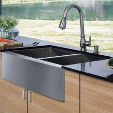 Cool farmhouse kitchen sink remodel ideas 16
