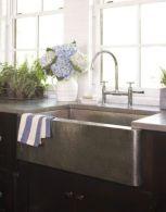 Cool farmhouse kitchen sink remodel ideas 23