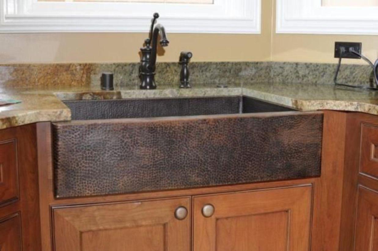 50 Cool Farmhouse Kitchen Sink Remodel Ideas