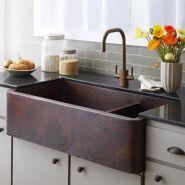 Cool farmhouse kitchen sink remodel ideas 40