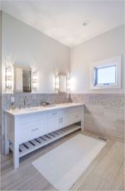 Cozy farmhouse bathroom makeover ideas 04