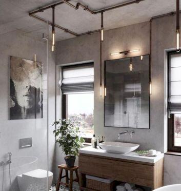 Cozy farmhouse bathroom makeover ideas 13