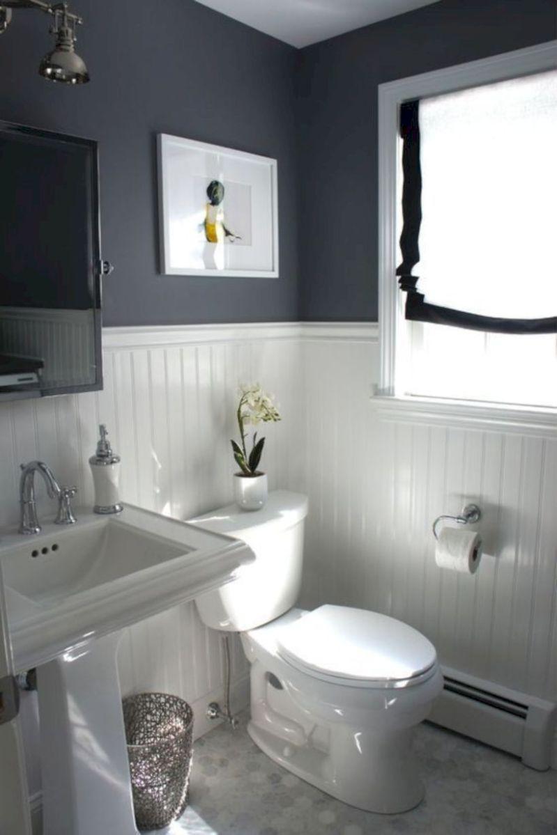 Cozy farmhouse bathroom makeover ideas 15