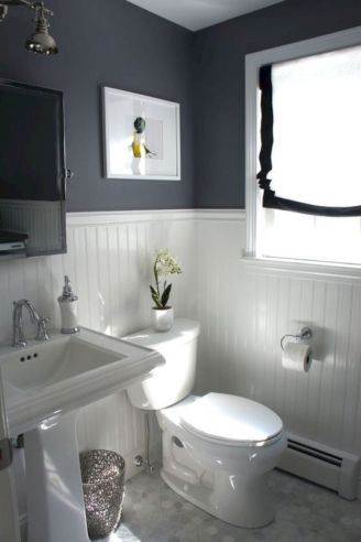 Cozy farmhouse bathroom makeover ideas 15