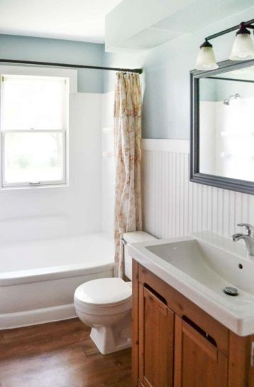 Creative diy bathroom makeover ideas 07