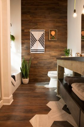 Creative diy bathroom makeover ideas 15