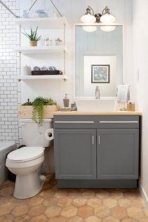 Creative diy bathroom makeover ideas 18