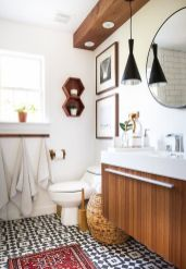 Creative diy bathroom makeover ideas 20